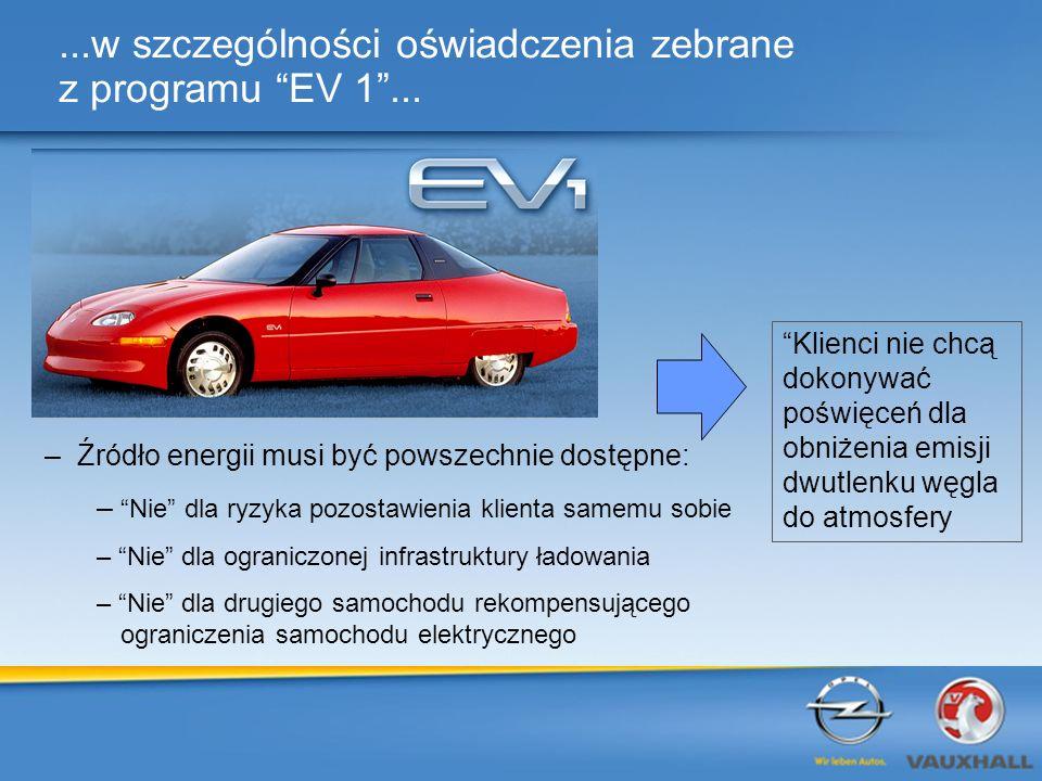 ...w szczególności oświadczenia zebrane z programu EV 1 ...