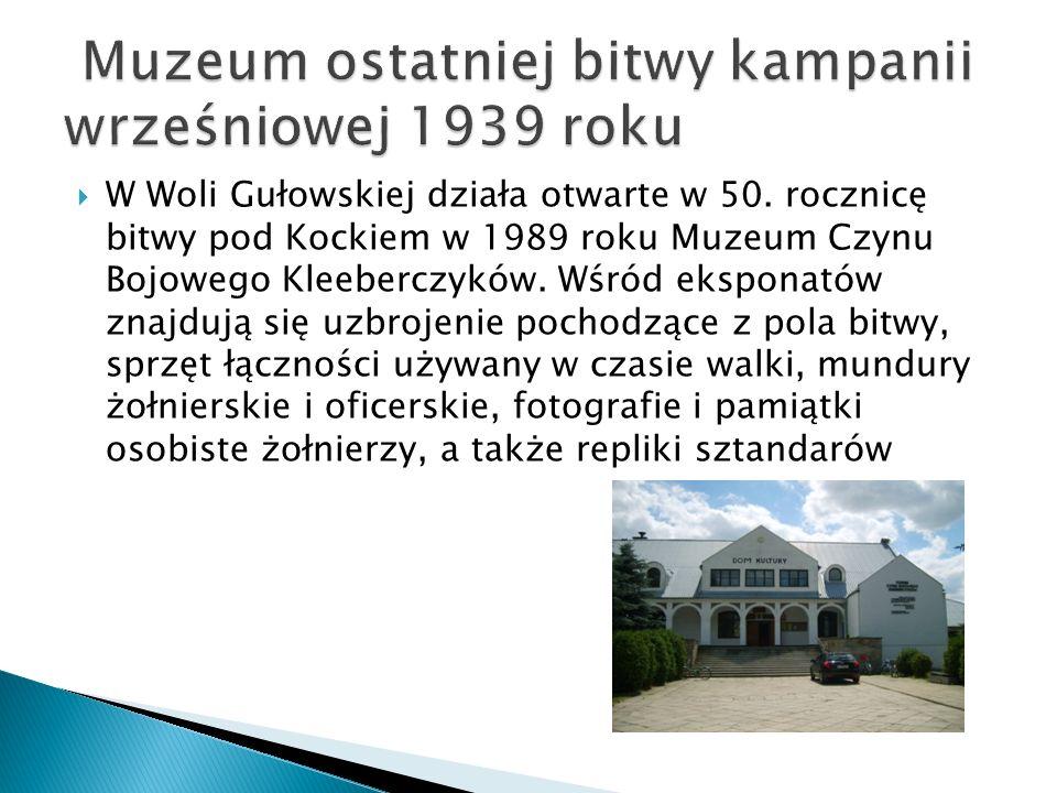 Muzeum ostatniej bitwy kampanii wrześniowej 1939 roku