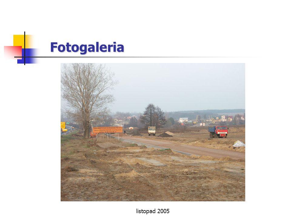 Fotogaleria listopad 2005