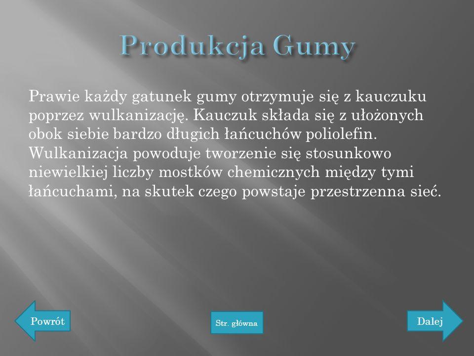 Produkcja Gumy