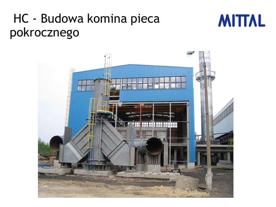 HC - Budowa komina pieca pokrocznego