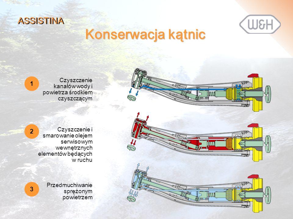 Konserwacja kątnic ASSISTINA 1 2 3