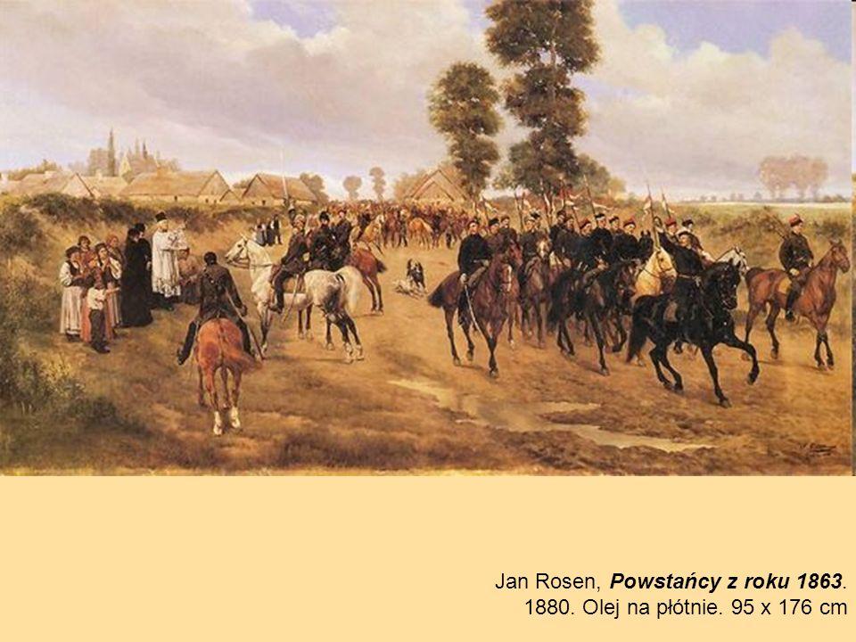 Jan Rosen, Powstańcy z roku 1863.