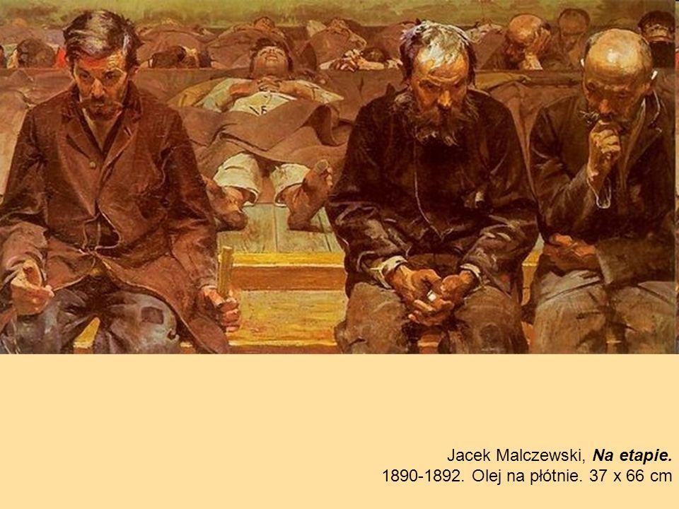 Jacek Malczewski, Na etapie.
