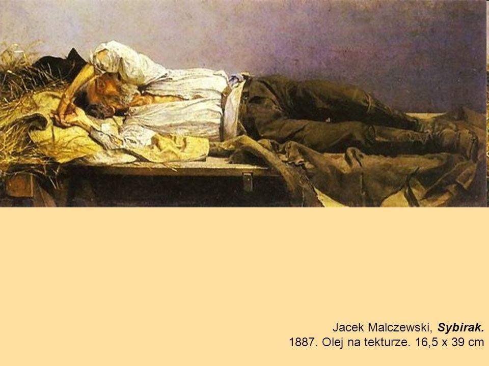 Jacek Malczewski, Sybirak.