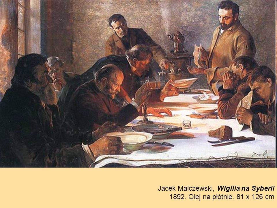 Jacek Malczewski, Wigilia na Syberii