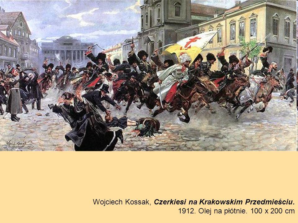 Wojciech Kossak, Czerkiesi na Krakowskim Przedmieściu.