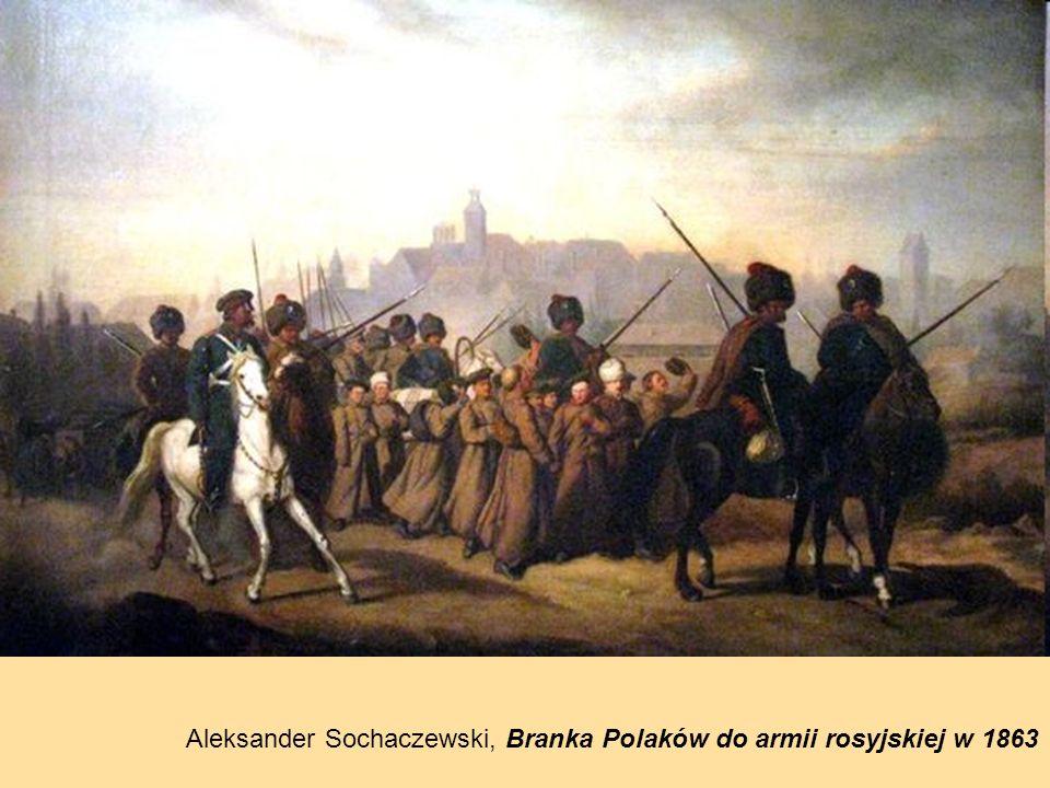 Aleksander Sochaczewski, Branka Polaków do armii rosyjskiej w 1863