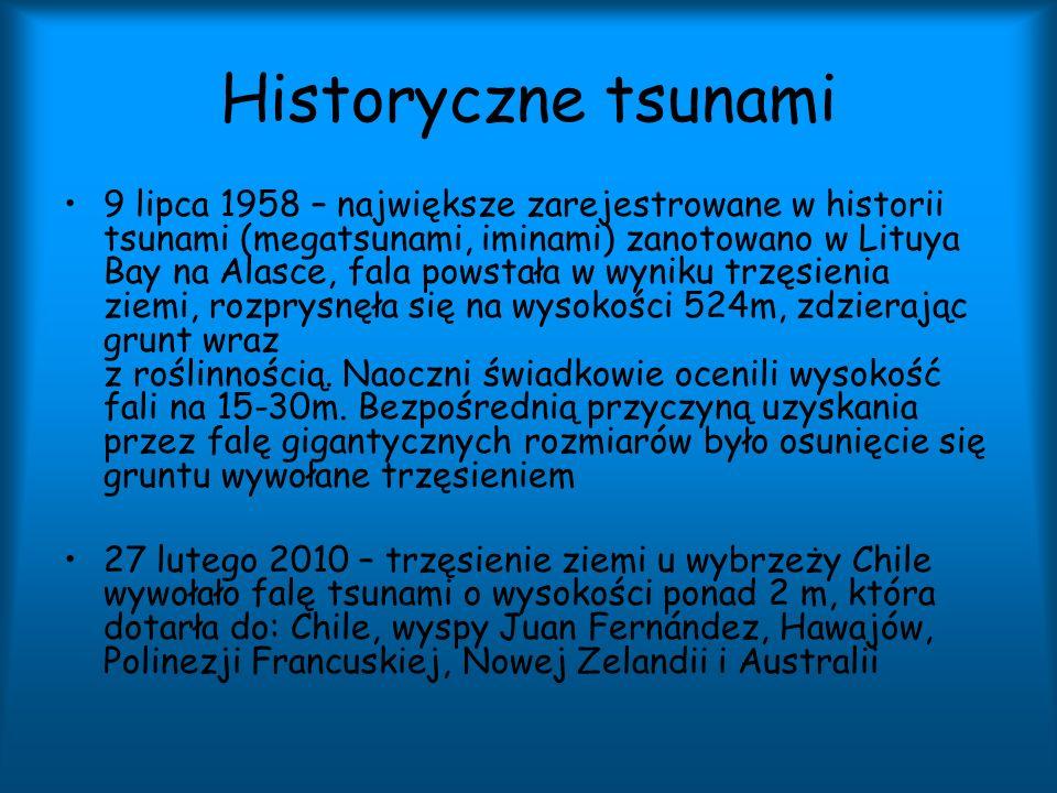 Historyczne tsunami