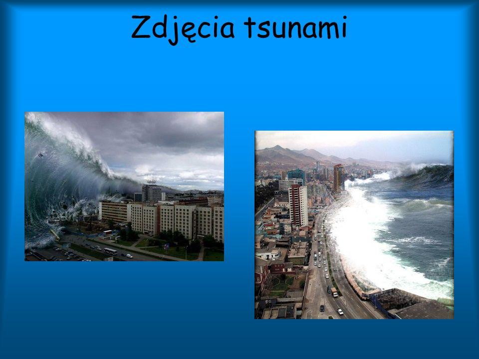 Zdjęcia tsunami