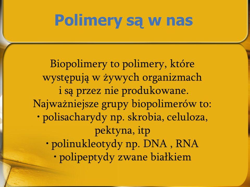 Polimery są w nas