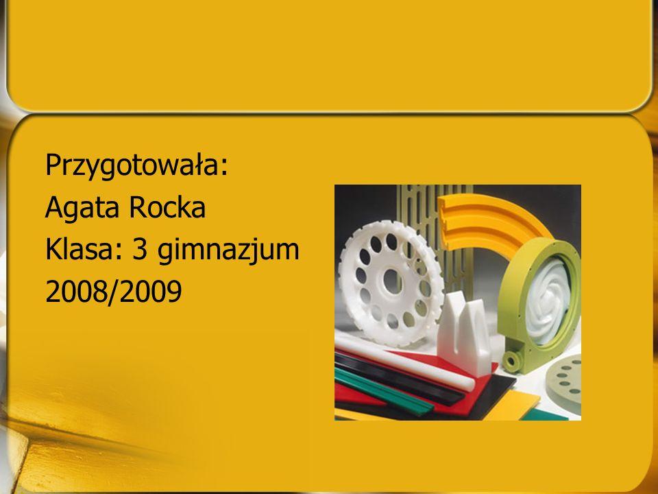 Przygotowała: Agata Rocka Klasa: 3 gimnazjum 2008/2009