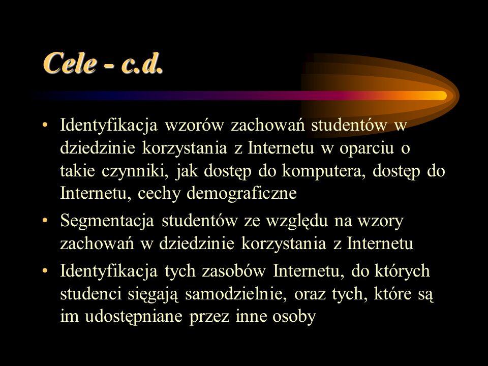 Cele - c.d.