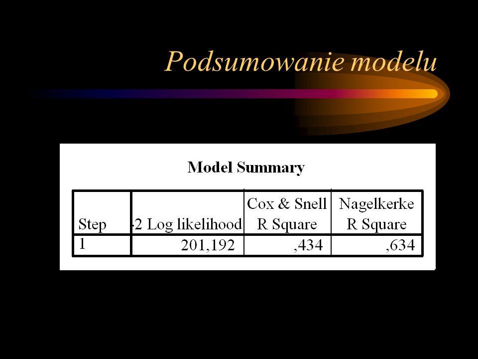 Podsumowanie modelu