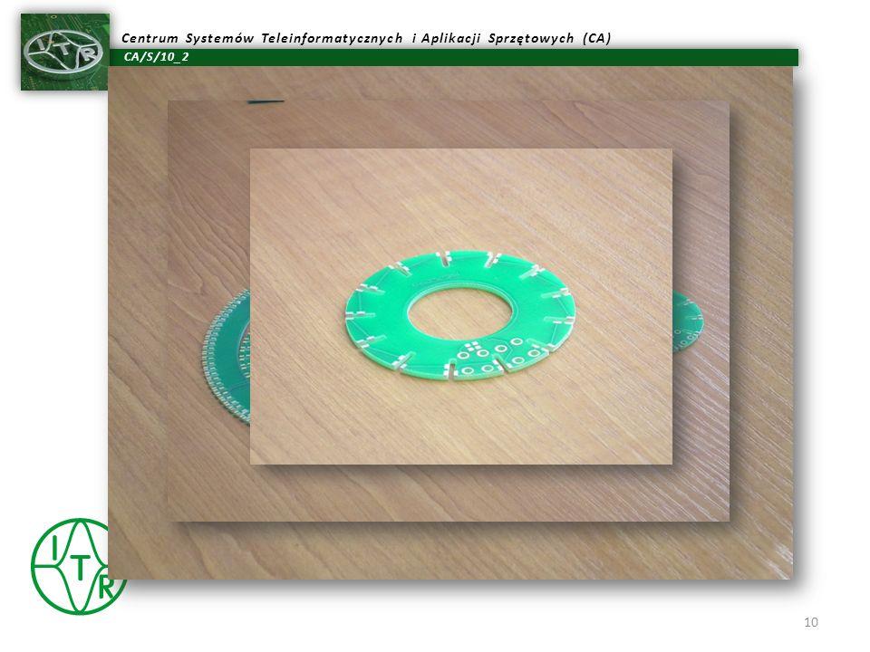 Rys.: Wygląd płyt bazowych, w których wlutowywane są płytki wielowarstwowe: