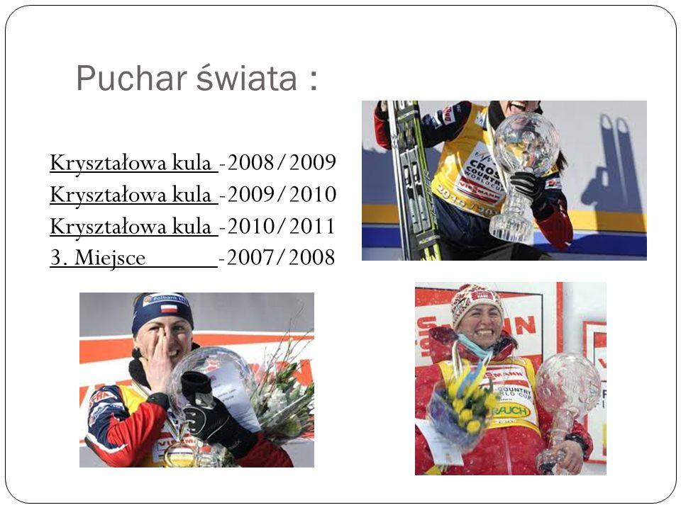 Puchar świata : Kryształowa kula -2008/2009