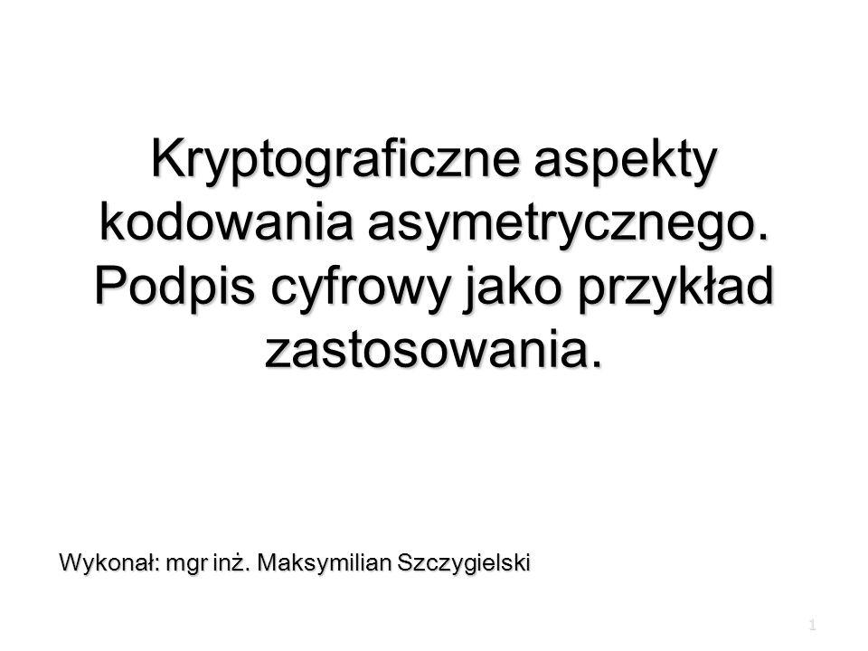 Wykonał: mgr inż. Maksymilian Szczygielski