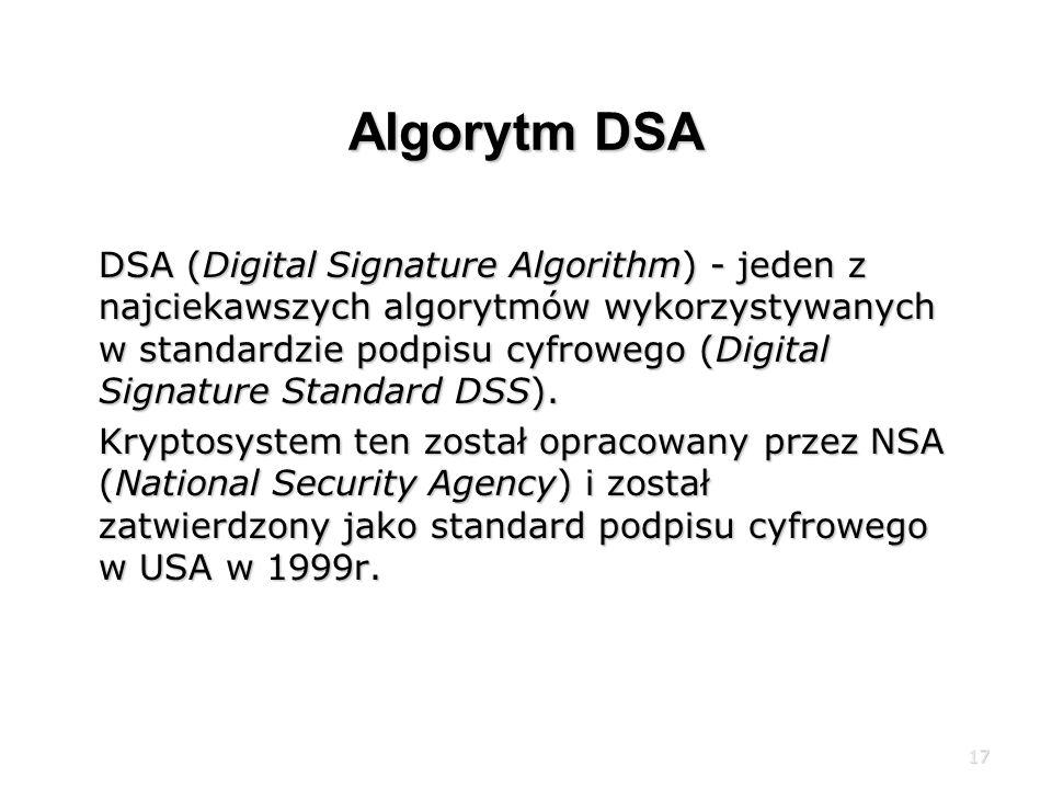 Algorytm DSA