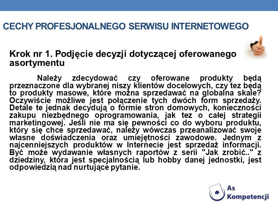 Cechy profesjonalnego serwisu internetowego