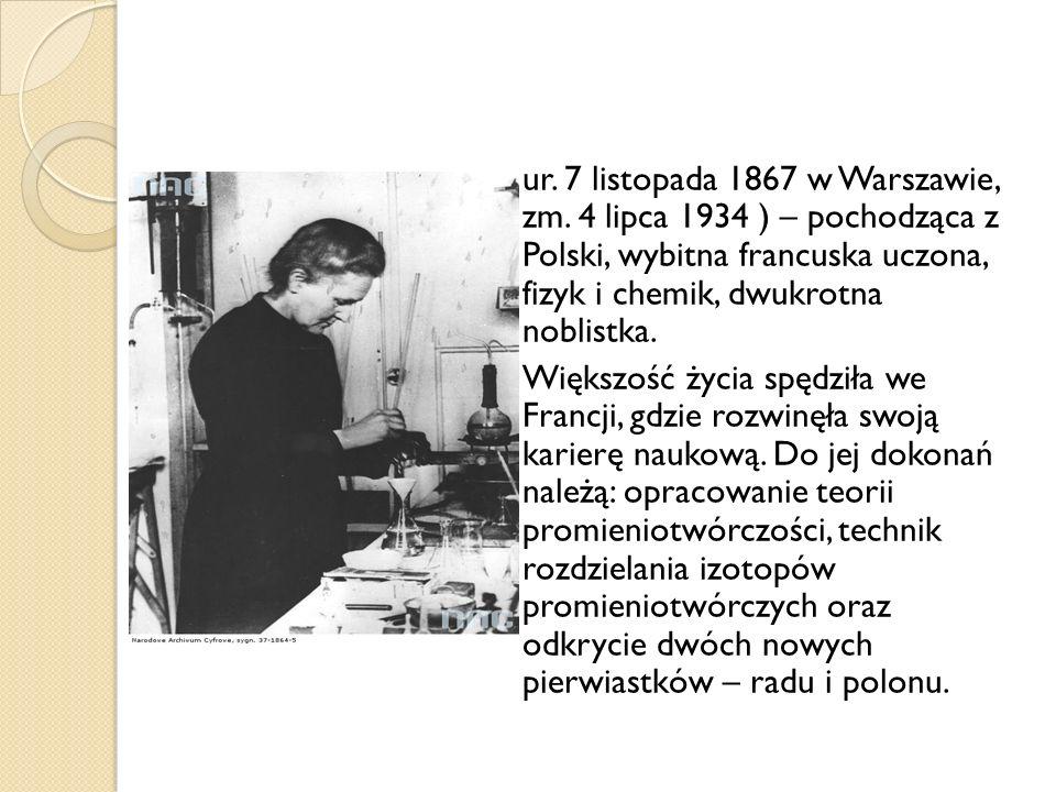 ur. 7 listopada 1867 w Warszawie, zm