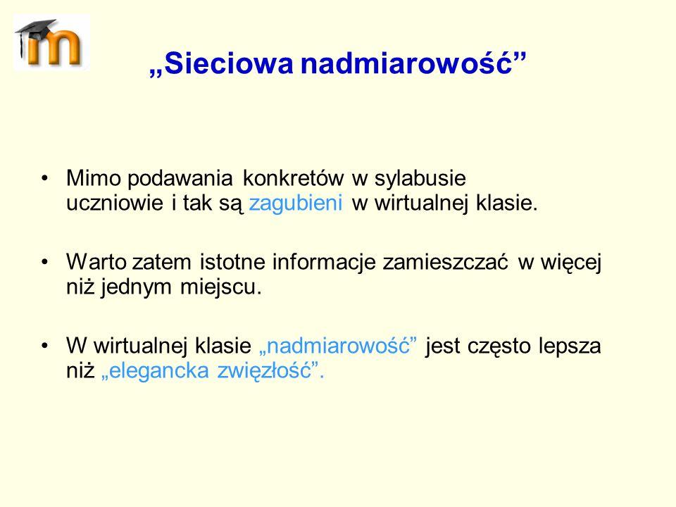 """""""Sieciowa nadmiarowość"""