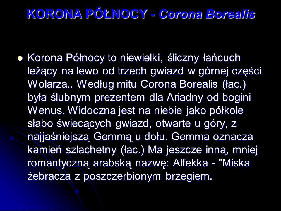 KORONA PÓŁNOCY - Corona Borealis