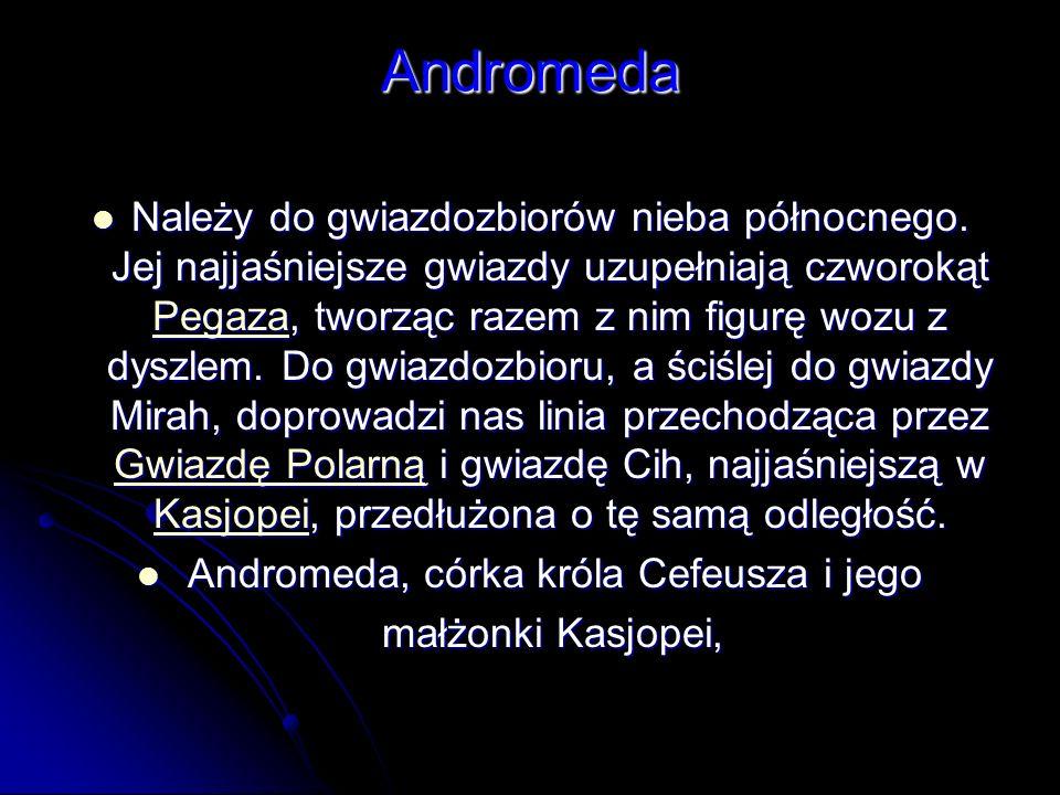 Andromeda, córka króla Cefeusza i jego