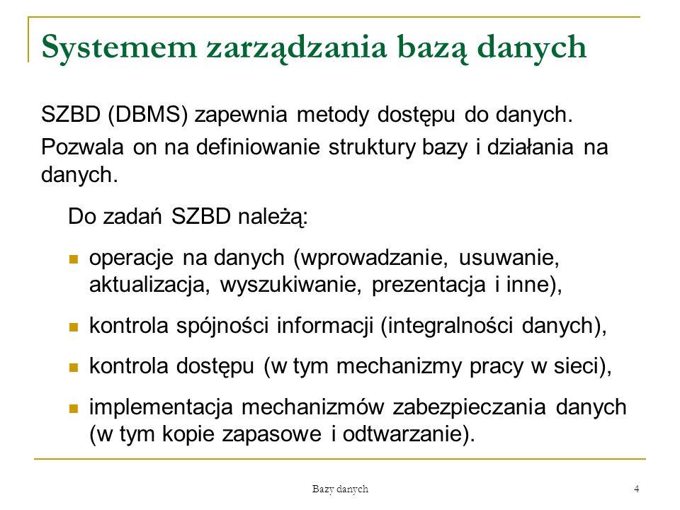 Systemem zarządzania bazą danych