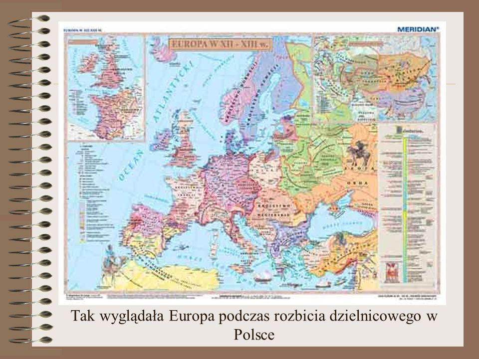 Tak wyglądała Europa podczas rozbicia dzielnicowego w Polsce