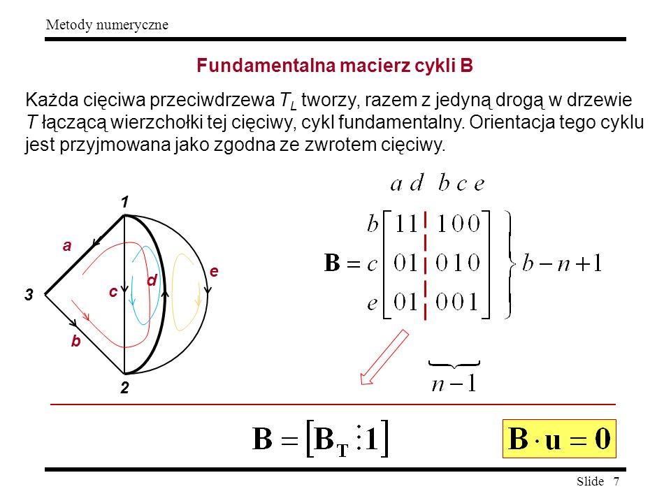 Fundamentalna macierz cykli B