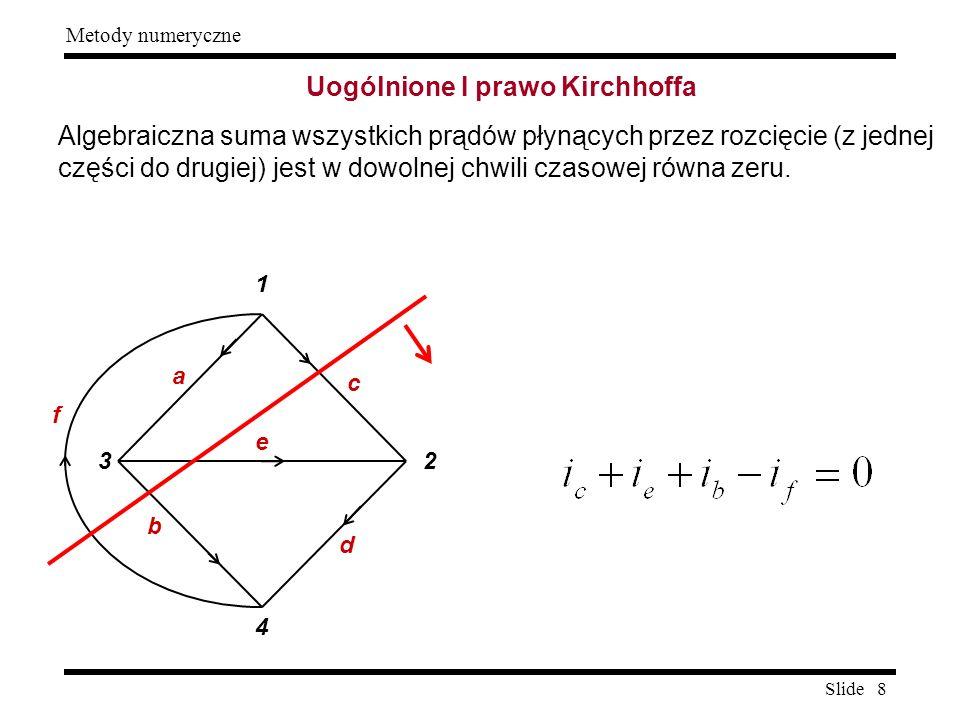 Uogólnione I prawo Kirchhoffa