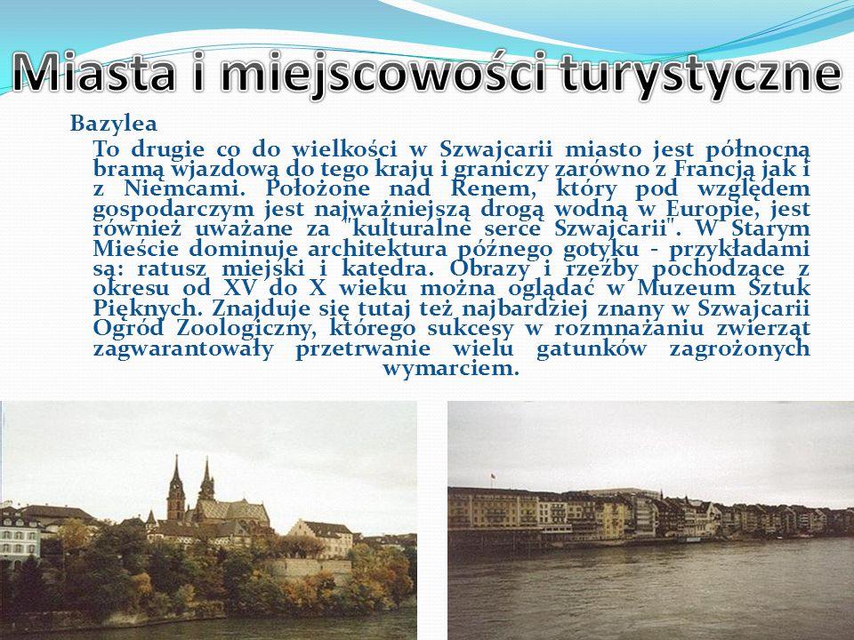 Miasta i miejscowości turystyczne