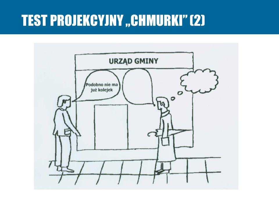 """TEST PROJEKCYJNY """"CHMURKI (2)"""