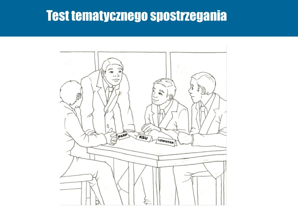 Test tematycznego spostrzegania
