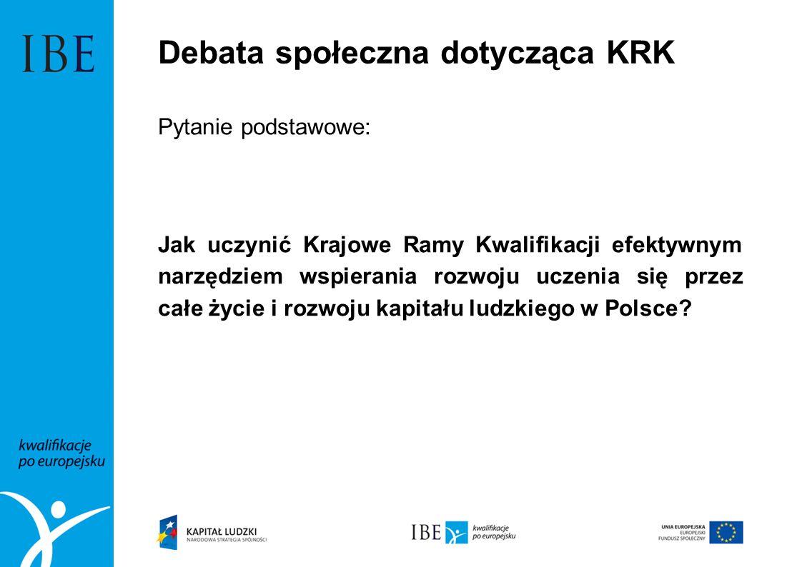 Debata społeczna dotycząca KRK