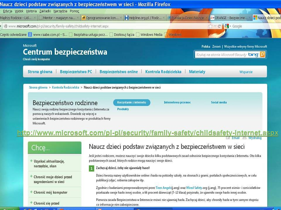 http://www.microsoft.com/pl-pl/security/family-safety/childsafety-internet.aspx