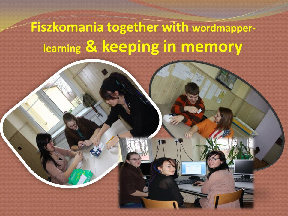 Fiszkomania together with wordmapper-learning & keeping in memory
