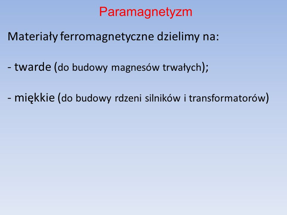 Paramagnetyzm