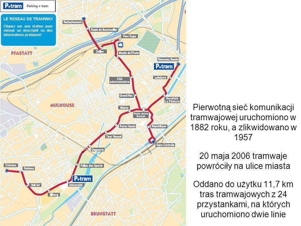 20 maja 2006 tramwaje powróciły na ulice miasta