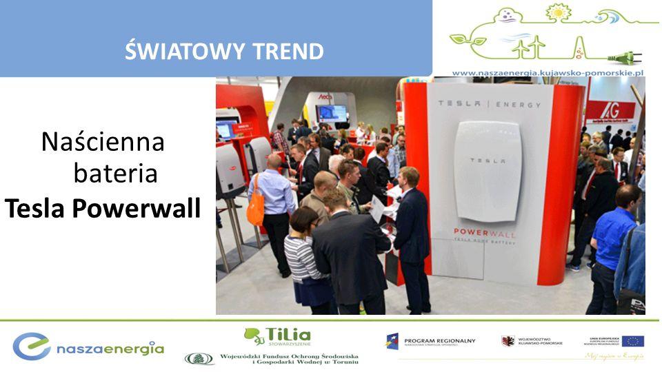 Naścienna bateria Tesla Powerwall