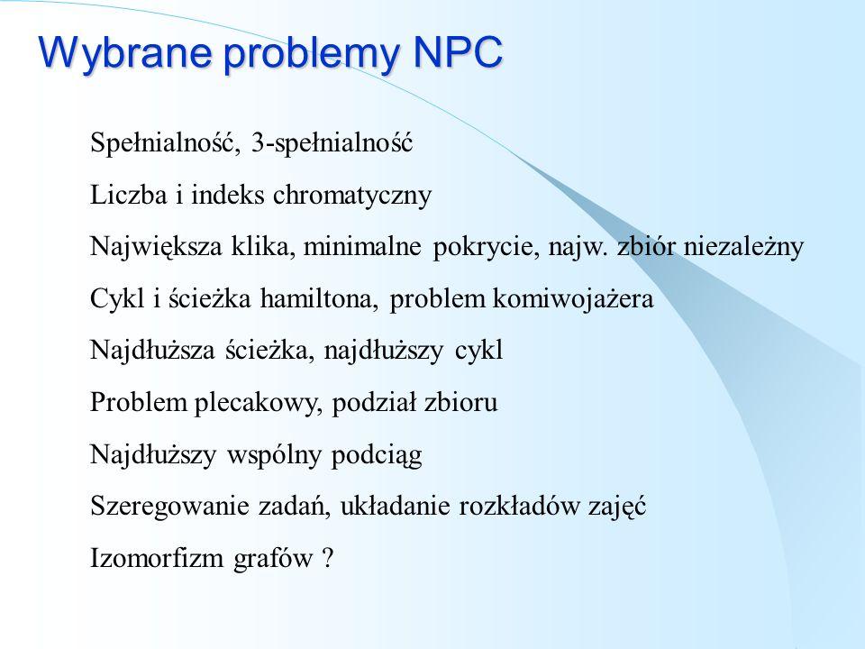 Wybrane problemy NPC Spełnialność, 3-spełnialność