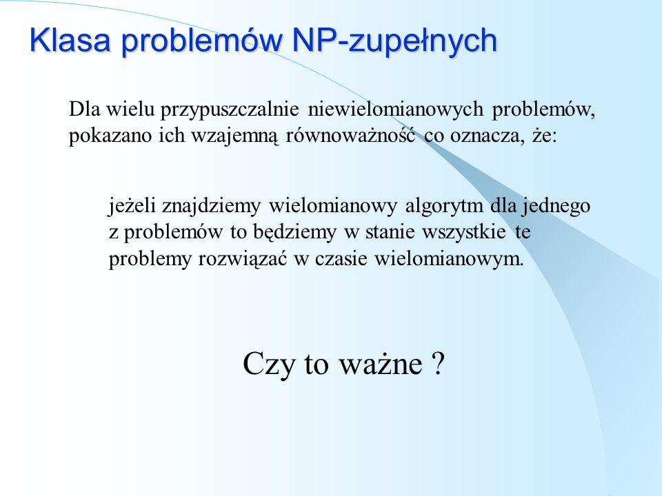 Klasa problemów NP-zupełnych