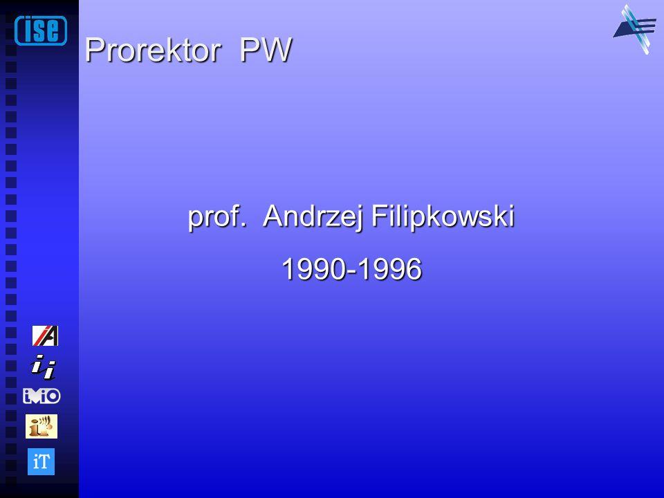 prof. Andrzej Filipkowski 1990-1996