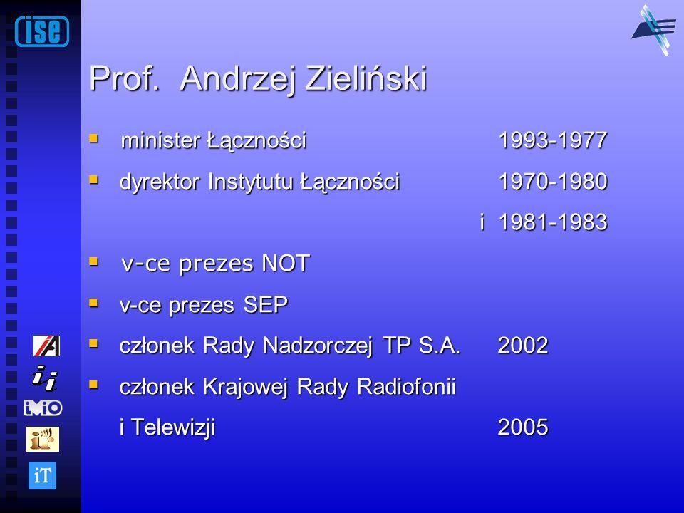 Prof. Andrzej Zieliński
