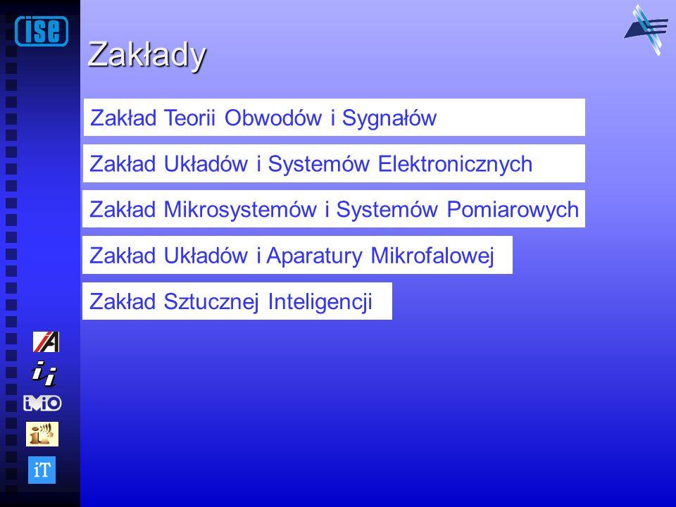 Zakłady Zakład Teorii Obwodów i Sygnałów