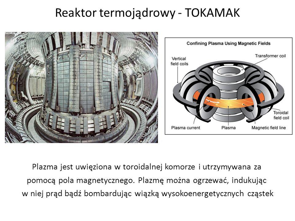 Reaktor termojądrowy - TOKAMAK