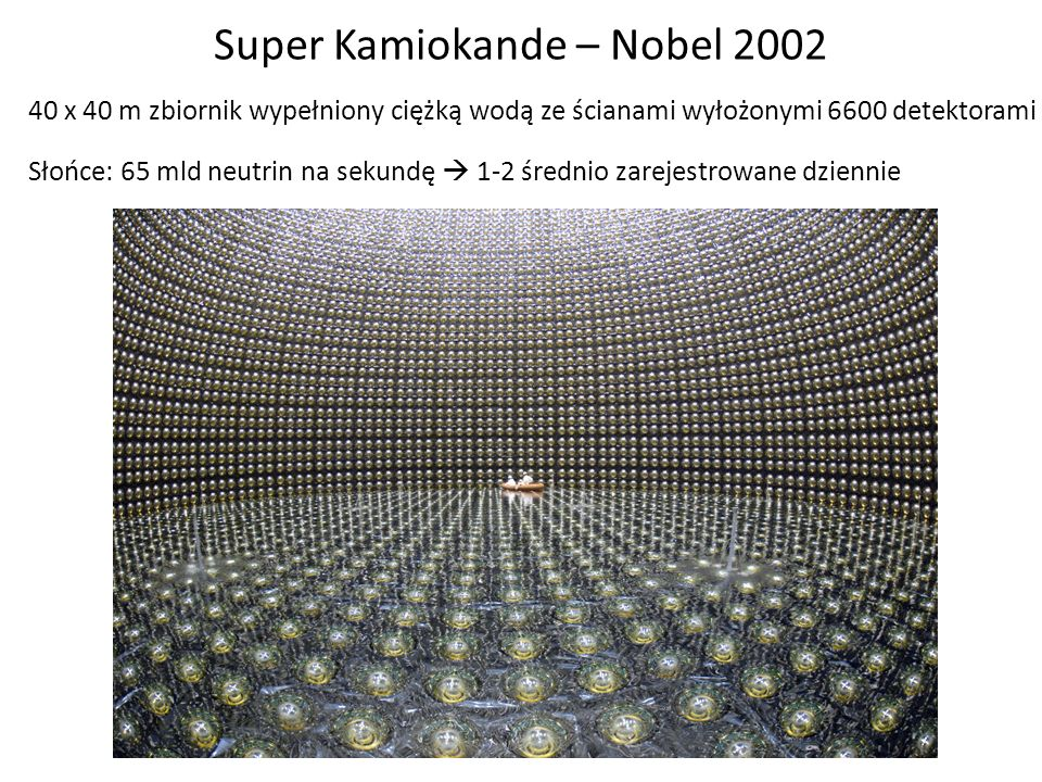 Super Kamiokande – Nobel 2002