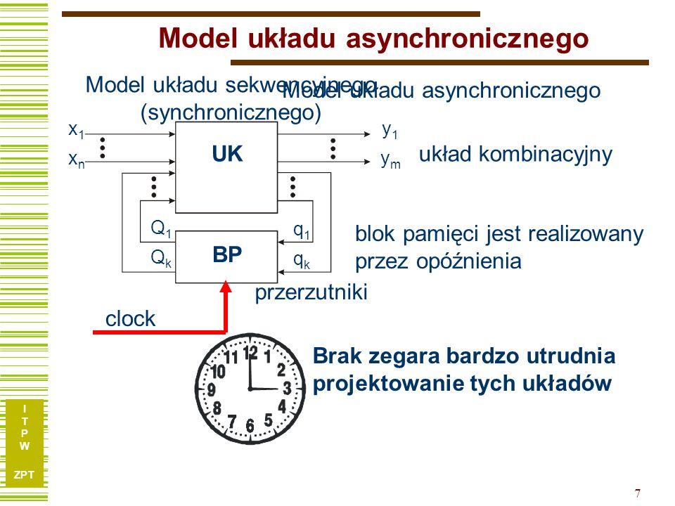 Model układu asynchronicznego