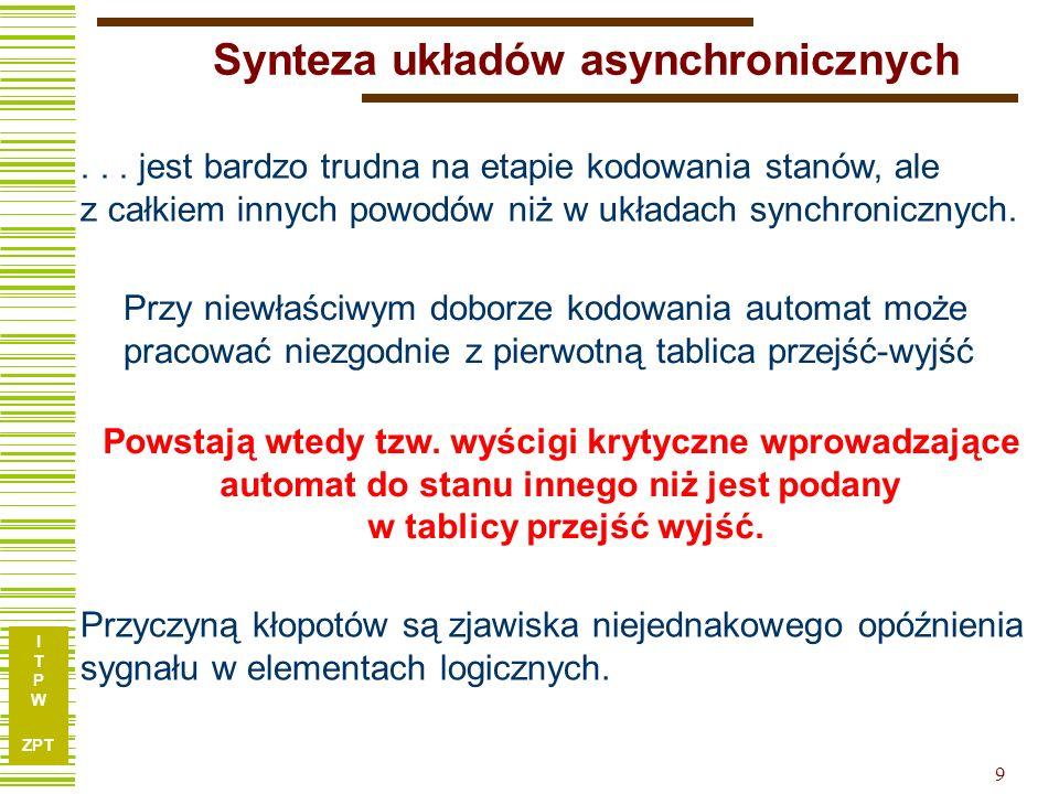 Synteza układów asynchronicznych