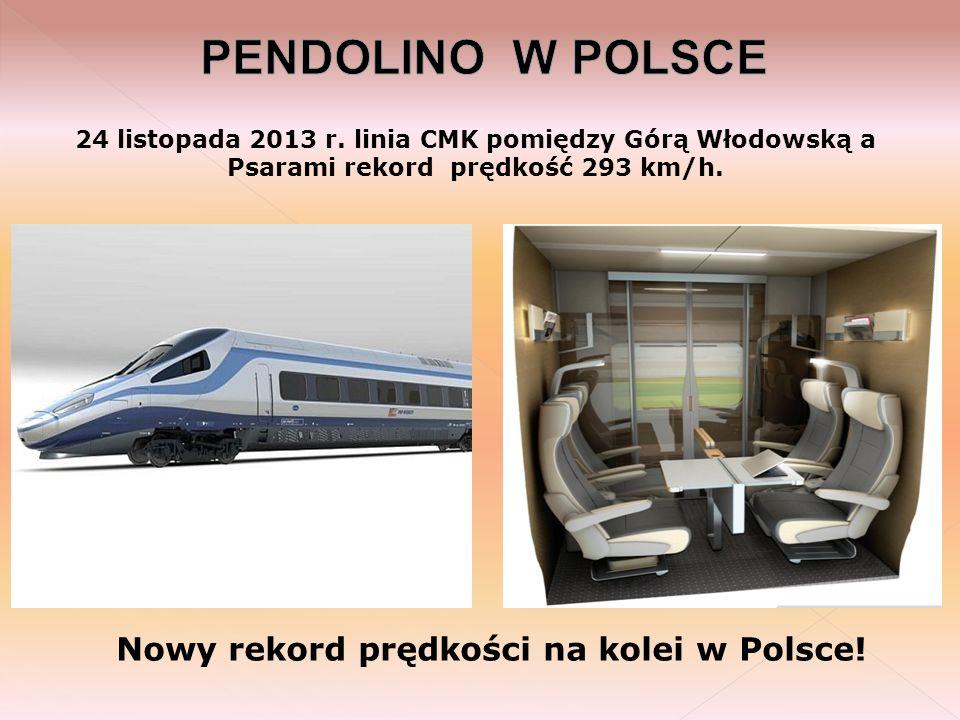 Nowy rekord prędkości na kolei w Polsce!